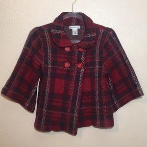100% Wool Sweater-Jacket